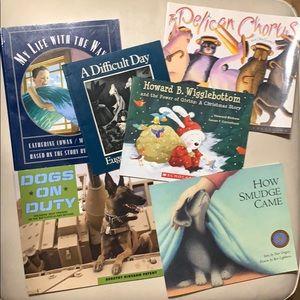 Soft cover children's book lot
